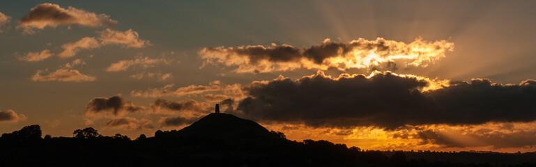 Glastonbury Tor at Dawn