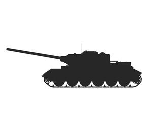 Military Tank.Vector illustration war kill