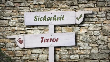 Schild 378 - Terrorsicherheit