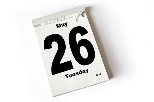 26. May 2020