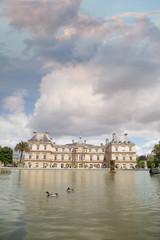 Fotobehang Luxembourg Gardens