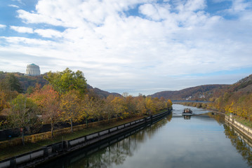 Herbst Bauwerk Kelheim