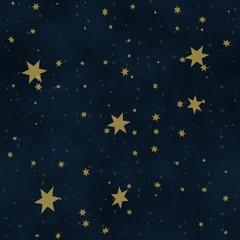 Starry sky. Seamless background.
