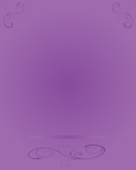 Background-Artistic Elements Over Purple