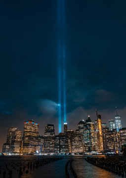 9/11 Tribute Ligths