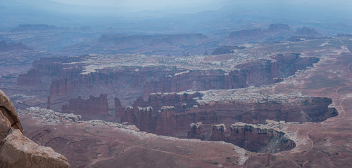 Late evening at Island in the Sky in Canyonlands National Park