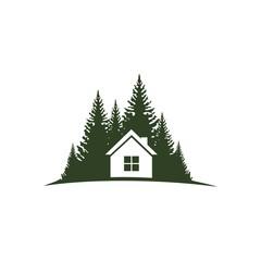 дом с лесу