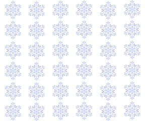 Snowflake Background 1