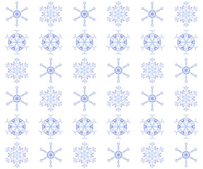 Snowflake Background 4