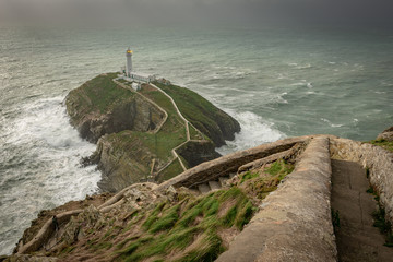 Southstack Lighthouse, Wales, United Kingdom