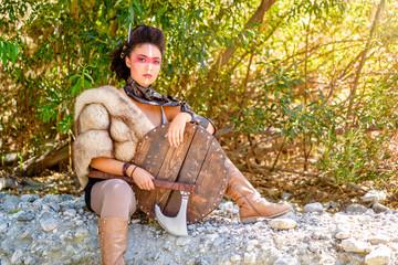 Female Viking Character