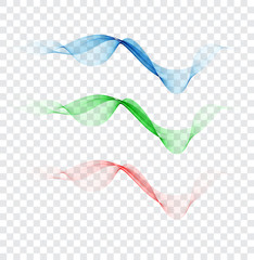 Abstract colourful wave element for design. Gentle colors. Digital frequency track equalizer.
