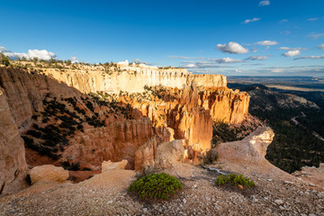Fototapete - Bryce Canyon National Park at Sunset from Paria Point