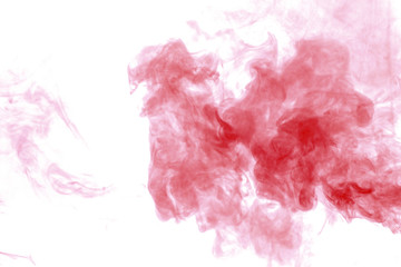 Red smoke texture