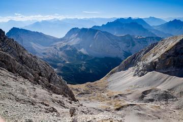 Malerisches Alpenpanorama