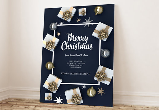 Christmas Poster Layout