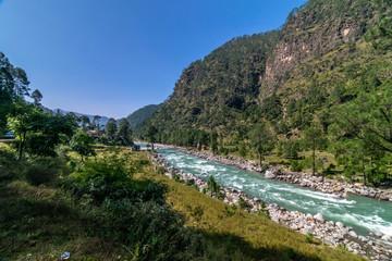 The Himalayan River - Sankri, Uttarakhand, India