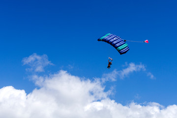 Tandem Skydive over the Beach