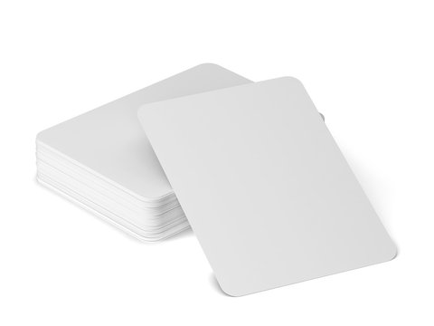 Playing cards mockup