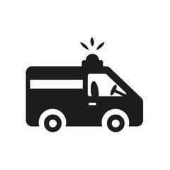 Ambulance icon. Trendy Ambulance logo concept on white background from Health and Medical collection