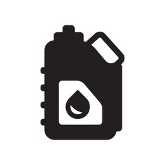 Jerrycan icon. Trendy Jerrycan logo concept on white background from Industry collection