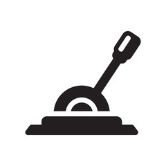 Lever icon. Trendy Lever logo concept on white background from Industry collection