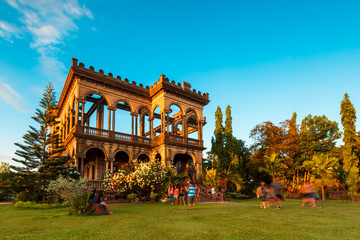 The Ruins near Bacolod City, Philippines. Located in Talisay City, Negros Occidental, Philippines.