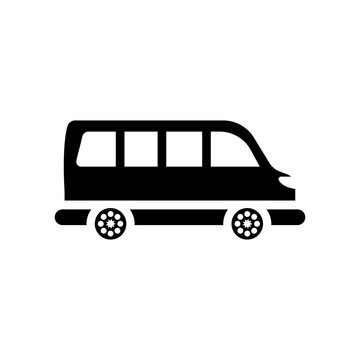 Minibus icon. Trendy Minibus logo concept on white background from Transportation collection