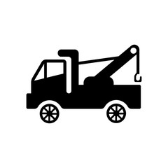 Tow truck icon. Trendy Tow truck logo concept on white background from Transportation collection