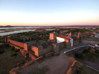 Portugal. Historical village of Mourao in Alentejo