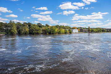 Rock River at Janesville, Wisconsin