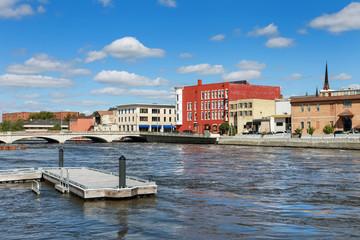 Riverfront in Janesville Wisconsin