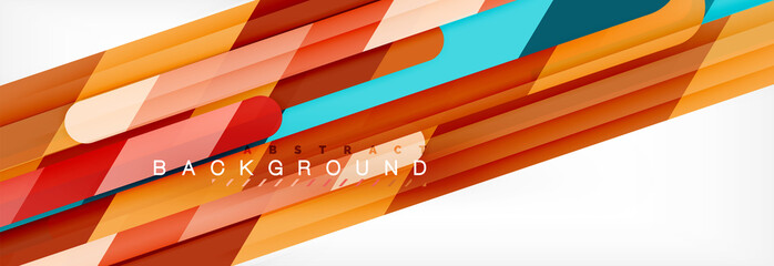 Straight lines abstract vector background