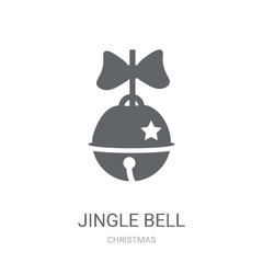 Jingle bell icon. Trendy Jingle bell logo concept on white background from Christmas collection