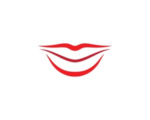 Lips logo illustration