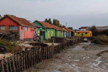 France, Île d'Oléron, popular tourist destination, French oyster farming sites,