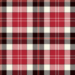Tartan Plaid Scottish Seamless Pattern Background