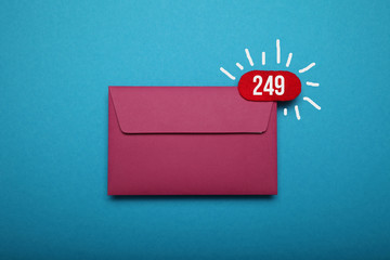 Email message correspondence deliver. Contact chat.