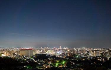 都市風景 福岡市 夜景