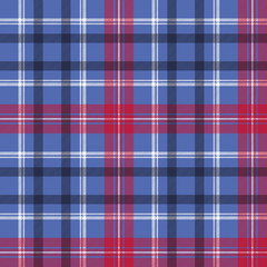Tartan seamless pattern check fabric texture