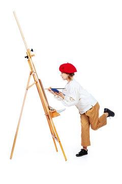 bright creative painter