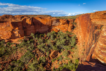 View of Kings Canyon, Northern Territory, Australia