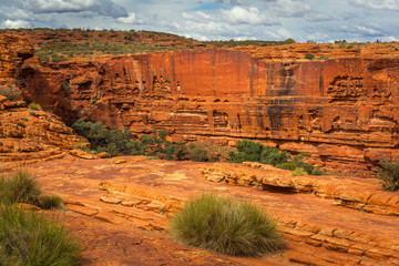 View of the South Rim, Kings Canyon, Northern Territory, Australia