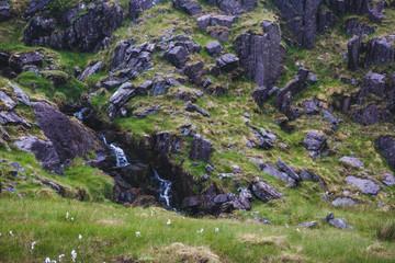 Highland area near of mount Carrauntoohil. At morning