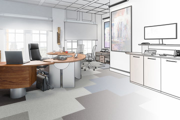 Executive Office 02 (drawing)