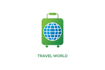 TRAVEL WORLD LOGO DESIGN