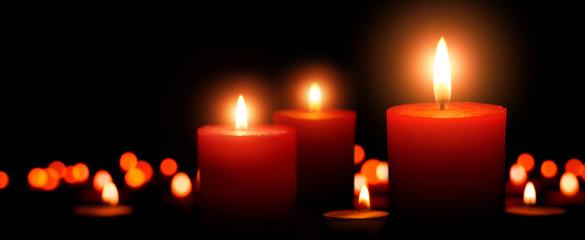 Advent Kerzen, dritter Advent