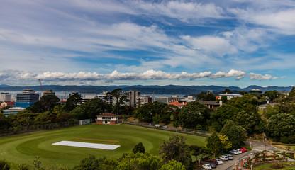 New Zealand, capital city Wellington.