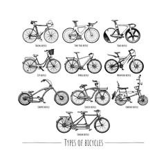 Types of bikes