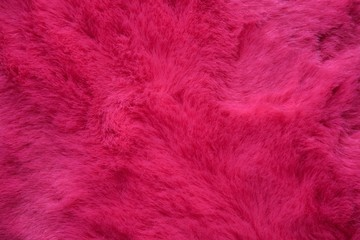 background of pink fur Wall mural